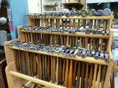 Hammers Jeffrey Herman Silversmith: Silversmithing Shop View #10