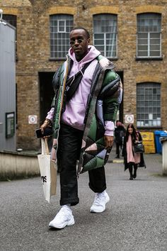 London fashion week men s lfwm street style snaps best of photography  dressed prada raf simons martine 05b7de737723c