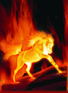 images of fire art Magical Creatures, Fantasy Creatures, Arte Haida, Foto Fantasy, Fire Horse, Flame Art, Fire Image, Horse Artwork, Clydesdale