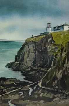Paul Holmes, Irish artist, Antrim Art Society, Irish Art, Connemara, Donegal, Art Club, Artist Names, Artist At Work, All Over The World, Lovers Art