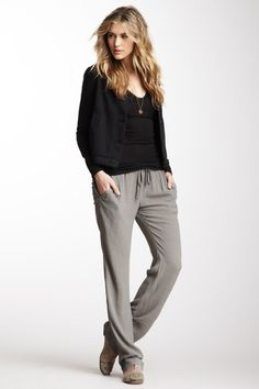 Crepe Woven Pant by James Perse on @HauteLook