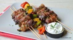 Ficăței de pui înveliți în bacon și prăjiți la grătar sau la tigaie grill | Savori Urbane Bacon, Lidl, Barbecue, Steak, Keto, Recipes, Food, Crickets, Bbq