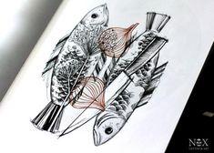 Рыбки   Татуировки, эскизы и тату-мастера России, Украины, Беларуси и из всего бывшего СССР