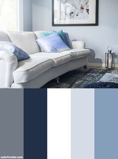 gorgeous living room color schemes to make your room cozy 35 House Color Schemes, Living Room Color Schemes, Living Room Colors, Living Room Paint, House Colors, Living Room Decor, Living Rooms, Interior Design Color Schemes, Apartment Color Schemes