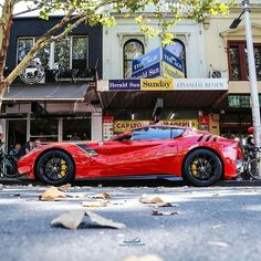 """318 Likes, 2 Comments - @f430addict on Instagram: """"From @thatcardude -  The 769BHP Ferrari F12 TDF (tour de France) on Lygon today. Finished in this…"""""""