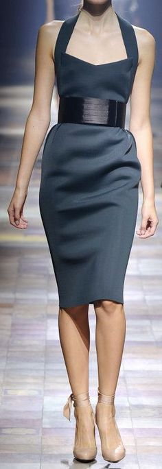 Lanvin, pencil dress. Love.