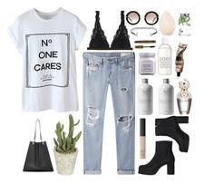 """no one cares"" by styledbypr ❤ liked on Polyvore featuring Monki, rag & bone/JEAN, NARS Cosmetics, Laura Mercier, Miu Miu, La Compagnie de Provence, Marc Jacobs, L'Oréal Paris, Aesop and Christian Dior"