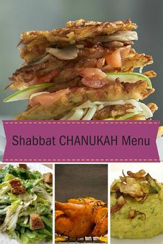 A special Chanukah Menu- Need a menu for this Chanukah? This complete dinner menu has all the recipes you need.