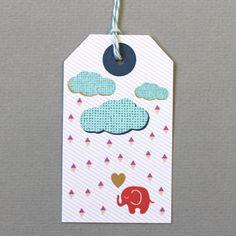 Elephant Gift Tags