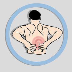 Les autres douleurs Le haut du dos n'est pas le seul endroit susceptible de nous faire mal. Les douleurs à