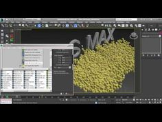 Tutorial Pflow-3ds Max-Formar objecto con particulas - YouTube