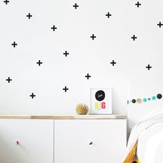 Hey, I found this really awesome Etsy listing at https://www.etsy.com/listing/206670599/crosses-wall-decal-plus-sign-wall-decal