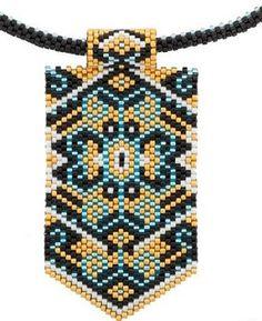 uniquesautoir Ethnique amérindien élégance perles Miyuki Beading Patterns Free, Peyote Patterns, Loom Patterns, Jewelry Patterns, Loom Bands, Art Perle, Motifs Perler, Beaded Banners, Do It Yourself Jewelry