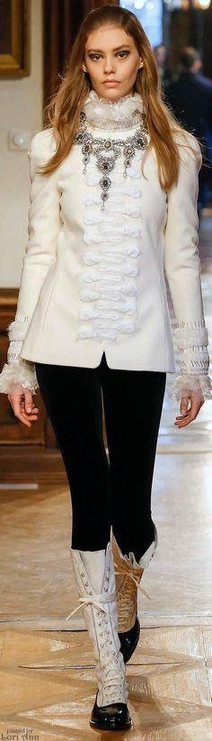 Chanel Pre-Fall 2015 in Salzburg in Austria - Inspiration: austrian Tracht, Habsburger like Sisi, etc amazing!