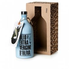 Olive oil packaging / lamp