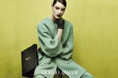 Giorgio Armani Model: Marikka Juhler Photographer: Solve Sundsbo