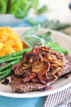 Beef Liver with Figs and Caramelized Onion (Paleo/AIP/Whole30)