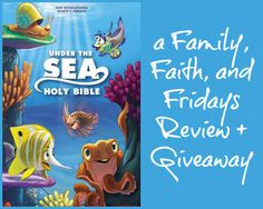 Family, Faith, and Fridays: Under The Sea Bible Review and Giveaway (ends 4/8)