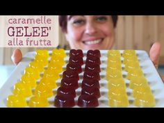 Caramelle Geleè alla Frutta Ricetta Facile - Fruit Jelly Candies Easy recipe - YouTube