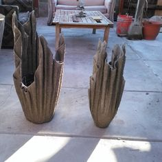 Should you be redecorating your home and looking for some great new ideas, maybe as a gift? Look no further, we have some brilliant ideas to put your flowers in. Create your own unique planters. The method of making these planters is the easiest you have ever seen. Apparently, you can... #planters