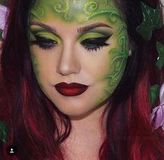 Trendy Makeup Ideas : Poison Ivy makeup More