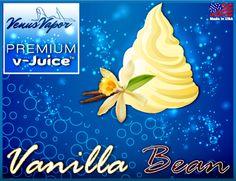 "Vanilla bean - Reg. price $5.99 #CyberMonday: 45% off! Use code ""cybermonday"" at checkout. #ejuice #vaping #ecigs http://www.venusvapor.com/product/vanilla-bean/"