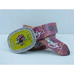 c682db28e4d Replica Ed Hardy Belts For Men Wholesale Red 056. Cheap Gucci Belts
