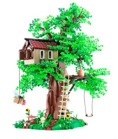 LEGO MOC, Tree House, created by Jonas