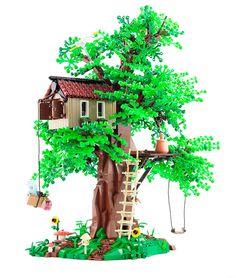 LEGO MOC, Tree House, created by Jonas