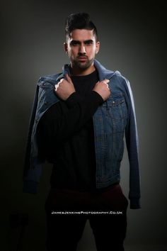 Raashid-male model for Creative Image Academy Staffordshire