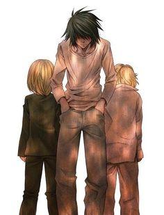 Mello, L, and Near        _Death Note