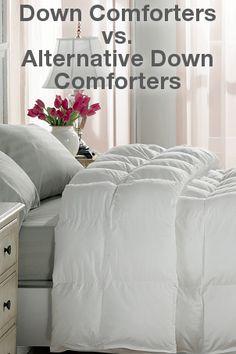 Down Comforters vs. Alternative Down Comforters   Overstock™