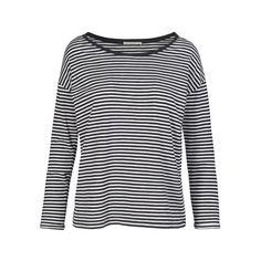 ARMEDANGELS | Ana Stripes Longsleeve Streifen  - black-off white