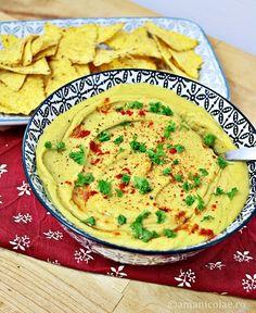 Avocado Hummus, Hummus Recipe, Tahini, Raw Vegan, Pesto, Curry, Healthy Recipes, Healthy Food, Chips