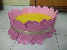 Lotus flower for varamahalakshmi pooja Diwali Decorations, Stage Decorations, Festival Decorations, Flower Decorations, Wedding Decorations, Cradle Decoration, Lotus Models, Decoration For Ganpati, Marriage Gifts