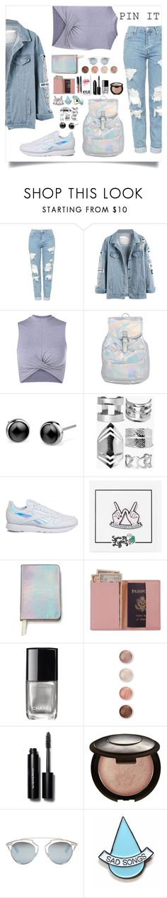 """I'm back 💞💕"" by natalia-bottankova ❤ liked on Polyvore featuring Topshop, Boohoo, Reebok, Sara M. Lyons, Kate Spade, Royce Leather, Kylie Cosmetics, Chanel, Terre Mère and Bobbi Brown Cosmetics"