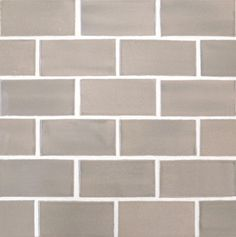 Light Grey 2x4 Subway Tile - modern - kitchen tile - minneapolis - Mercury Mosaics and Tile
