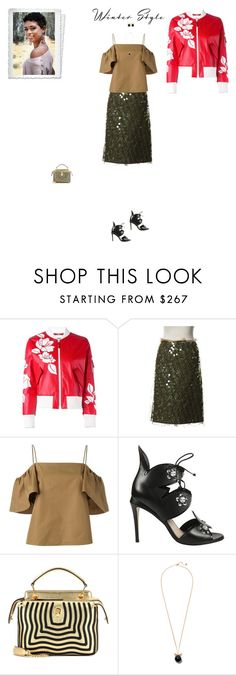 """""""#7226 - Fendi"""" by pretty-girl-in-fashion ❤ liked on Polyvore featuring Fendi, fendi and winterstyle"""