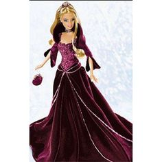 2004 Holiday Barbie Doll Red Velvet Dress Special Edition Blonde Version  2004 Holiday Barbie with Red Velvet dress with blonde hair.  Features : Barbie *holiday barbie *red velvet *blond  Product dimensions : 3.8x13.7x10.7 inches Product weight : 1.2 pounds