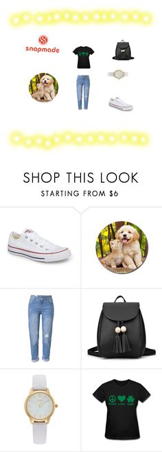 """""""Untitled #46"""" by fotinaki06 ❤ liked on Polyvore featuring Converse, WithChic and Vivani"""