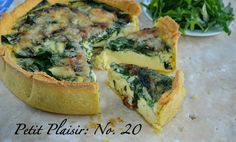 Petit Plaisir: No. 20 – Very Chic Quiche; spinach and gruyere - The Simply Luxurious Life