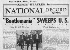 """Beatlemania 1963 """"They've got something! From Liverpool, I hear, of all places."""" """"From Liverpool ... !"""""""