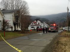 State police say one person is dead in a suspicious fire in Northfield.