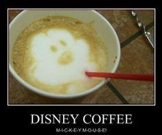 Disney coffee www.facebook.com/jenniesmagicaladventures