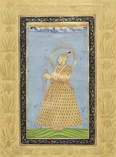 Mughal Emperor Muhammad Shah Muhammad Shah, Mughal Miniature Paintings, Last Emperor, Mughal Empire, Hyderabad, Persian, Ornament, Carving, Textiles