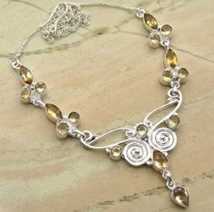 15.00ctw Citrine Quartz & .925 Sterling Silver Plated Brass Necklace (SJHN0094C) #fashionnecklaces #beautifulnecklaces #cheapnecklaces #silvernecklacesforwomen #necklacependants #silvernecklaceslong #silvernecklace #personalizednecklaces #womensnecklace #silvernecklaceformen #menssilvernecklace #mennecklaces #mensnecklaces #gemstone necklaces Buy Now:  http://www.sterlingsilverjewelry.tv/genuine-citrine-quartz-silver-plated-brass-y-necklaces-sjhn0094c.html