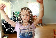 Yarn craft: spiderweb
