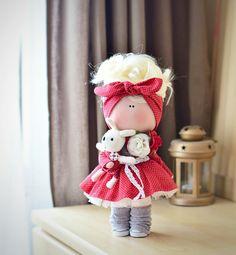 #кукла #текстильнаякукла #кукларучнойработы