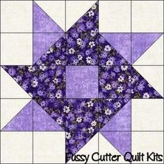 Easy Big Block Quilts Scrappy Fabric Whirlygig Pinwheel Easy Patchwork Pre Cut Quilt Blocks Squares To Fussy Cutter Quilt Kits Easy Big Block Quilt Patterns Free Patchwork Quilting, Patchwork Patterns, Quilt Block Patterns, Pattern Blocks, Pinwheel Quilt Pattern, Patchwork Cushion, Star Quilt Blocks, Star Quilts, Easy Quilts