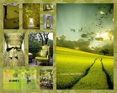 Fresh green..... Collage Dreams  Fbook: https://www.facebook.com/pages/Collage-dreams/639188992814078?sk=info&tab=page_info http://www.hetlijstjevanbrocante.nl/